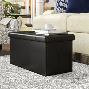 Gillingham Tufted Storage Ottoman by Fleur De Lis Living