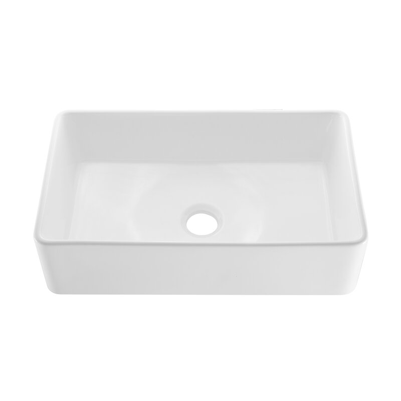 Swiss Madison Ceramic 33 L X 20 W Farmhouse Kitchen Sink Wayfair