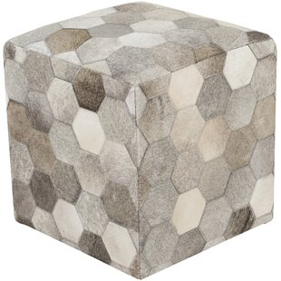 Sideling Hill Leather Pouf
