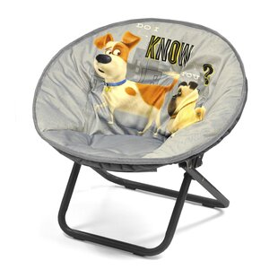 Character Toddler Kids Saucer Chair In Secret Life Of Pets