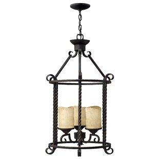 Darby Home Co Jamar 3-Light Lantern Pendant