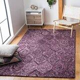 Purple Wool Area Rugs You Ll Love In 2021 Wayfair