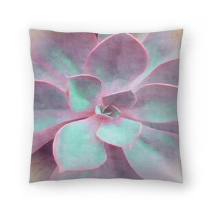 Sweet Succulent Throw Pillow