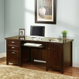MichalComputer Desk by Canora Grey Discount