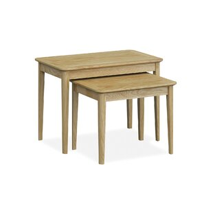 Deyoung 2 Piece Nest Of Tables By Natur Pur