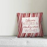 Christmas Striped Throw Pillows You Ll Love In 2021 Wayfair