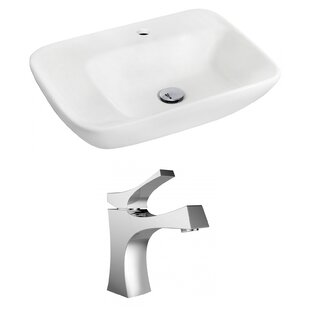 Shopping for Ceramic 24 Wall Mount Bathroom Sink with Faucet ByRoyal Purple Bath Kitchen