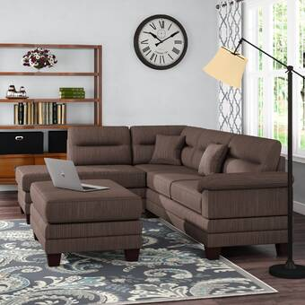 Latitude Run Clingensmith Right Hand Facing Sectional Wayfair