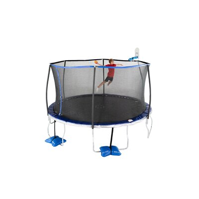 14' Round Trampoline with Safety Enclosure TruJump