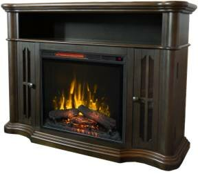 Devan TV Stand for TVs up to 50 with Electric Fireplace by Alcott Hill