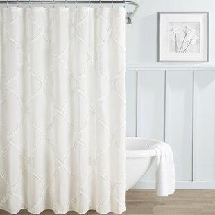 Cotton Shower Curtain White | Wayfair