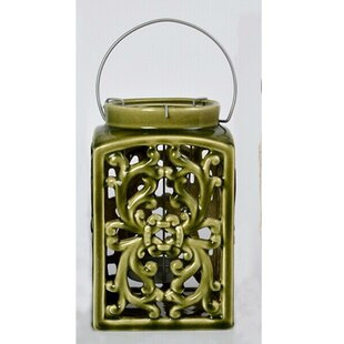 Affordable Price Ceramic Lantern By Drew DeRose Designs