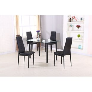 Slaton 5 Piece Dining Set