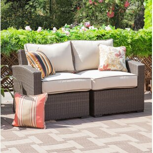 Ervin Patio Chair with Cushions (Set of 2)
