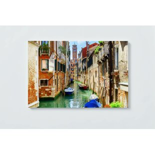 Venice Motif Magnetic Wall Mounted Cork Board By Ebern Designs