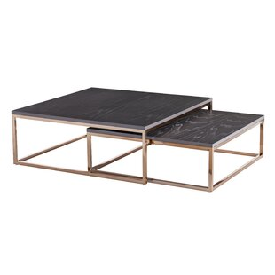 Juri 2 Piece Coffee Table Set by Wrought Studio