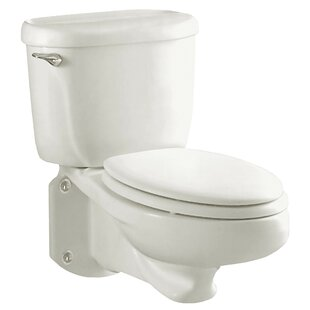 American Standard Flowise Glenwall Pressure Assisted 1.6 GPF Elongated Two-Piece Toilet