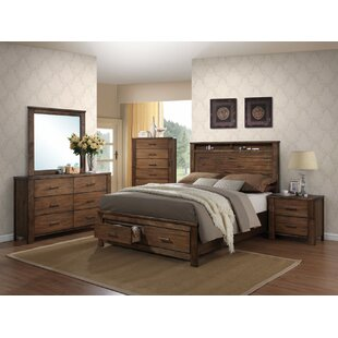 Bogdan Queen Storage Panel Bed by Foundry Select