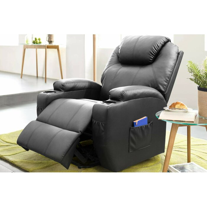 Awe Inspiring Electric Power Lift Assist Leather Reclining Heated Massage Chair Caraccident5 Cool Chair Designs And Ideas Caraccident5Info