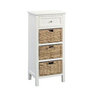 Beachcrest Home Hampton 4 Drawer Accent Cabinet