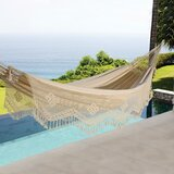 Haydn Cotton Double Tree Hammock