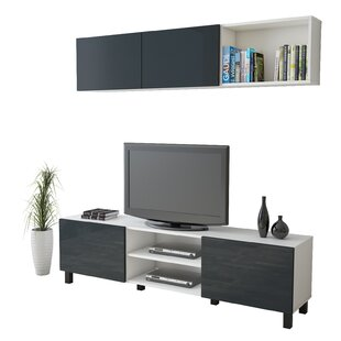 Anchoretta Entertainment Unit For TVs Up To 70