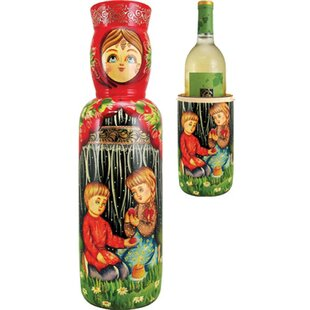 Fifer Children 1 Bottle Tabletop Wine Rac..