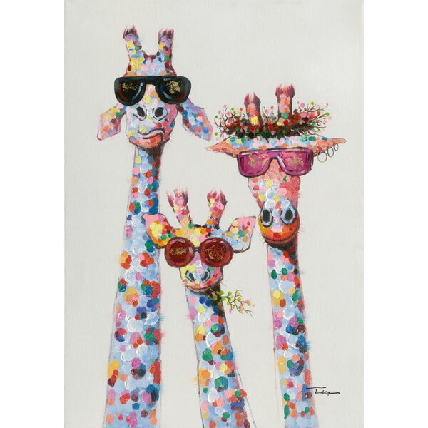 Captivating Giraffe Wall Art | Wayfair.co.uk