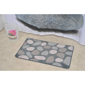 Spa Non Skid Print Bath Rug
