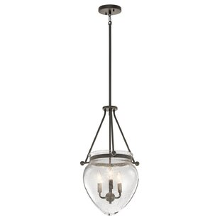 Breakwater Bay Edgemoor 3-Light Urn Pendant