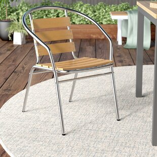 Ebern Designs Brightwood Stacking Patio Dining Chair