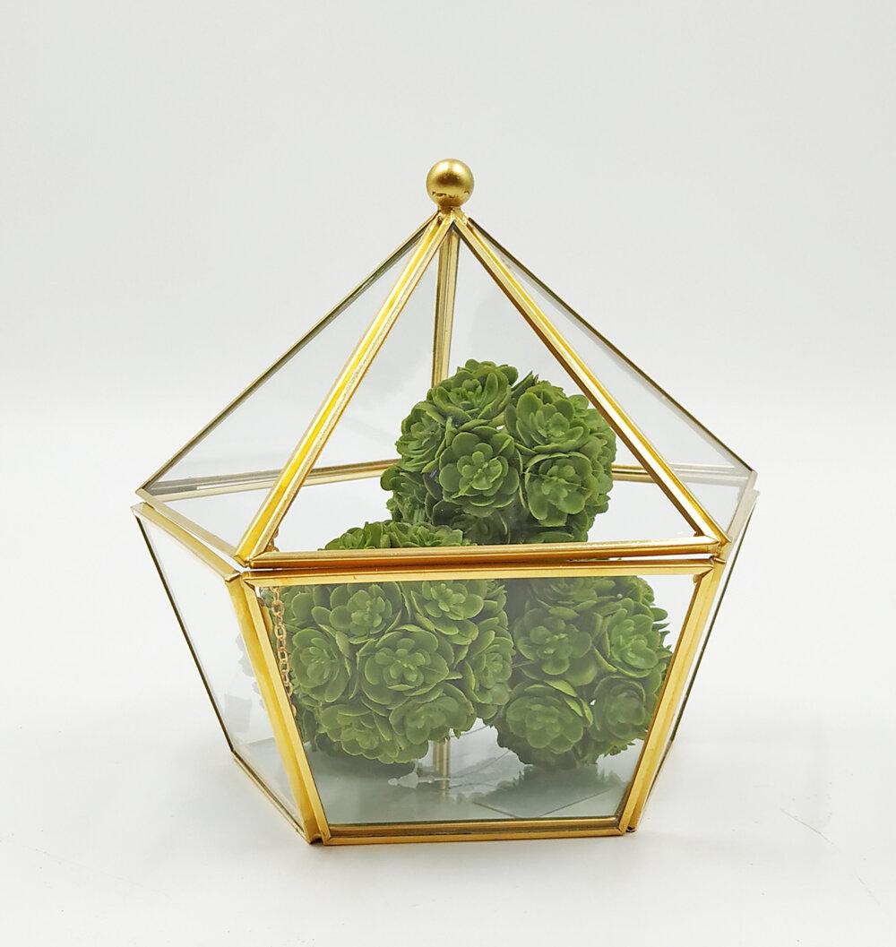 Esessentials Glass Terrarium Jewelry Decorative Box Reviews Wayfair