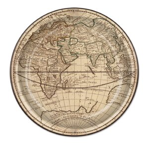 Around The World Paper Plate