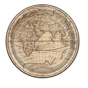 Around The World Paper Plate