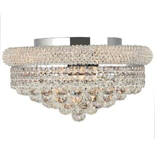 House of Hampton Carson Modern 8-Light Flush Mount