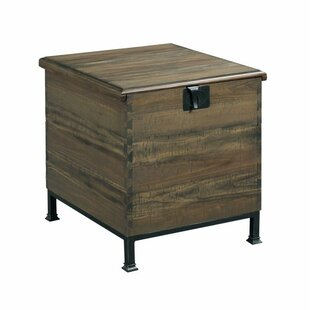 Williston Forge Evie End Table with Storage