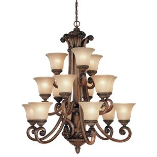 Dolan Designs Carlyle 15-Light Shaded Chandelier