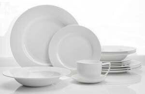 Zenas Classic 20 Piece Dinnerware Set, Service for 4