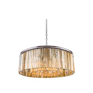 Whipton 10-Light Crystal Chandelier by Everly Quinn
