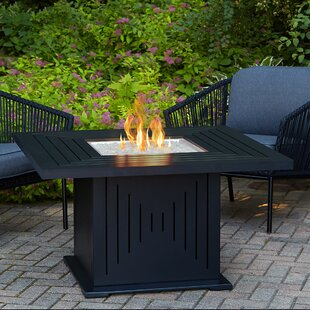 Real Flame Cavalier Aluminium Propane Fire Pit Table