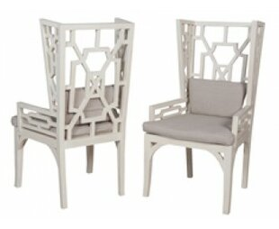 Bungalow Rose Silvia Wing Arm Chair (Set of 2)