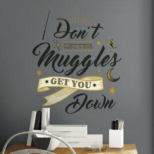 Kamin Harry Potter Muggles Quotel And Stick Giant Wall Decal
