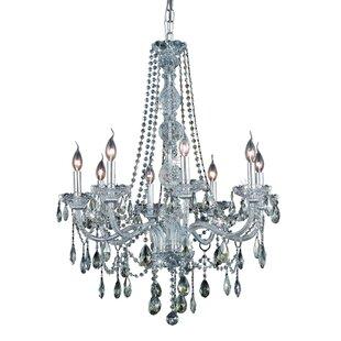 Astoria Grand Mullinix 8-Light Crystal Chandelier