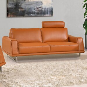 Leather Sofa by Noci Design