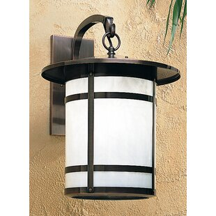Berkeley 1-Light Outdoor Wall Lantern by Arroyo Craftsman Cool