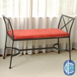 Fleur De Lis Living Saundra Upholstered Bench