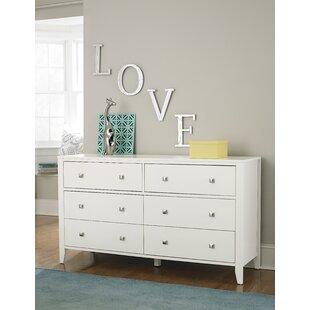 Susan 6 Drawer Double Dresser by Viv + Rae