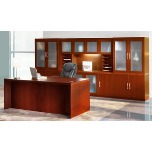 Mayline Group Aberdeen Series Standard Desk Office Suite