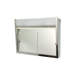 Buying Valdez Edge Mirror Door 19 x 24 Surface Mount Frameless Medicine Cabinet with Adjustable Shelves By Symple Stuff