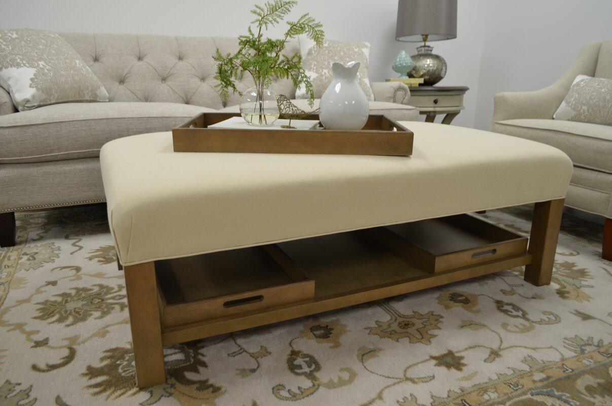 Craftmaster Alero Storage Ottoman